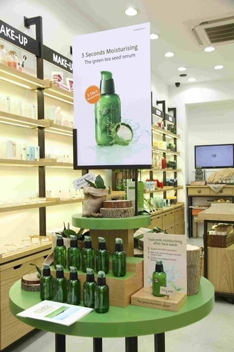 Spot this at the Innisfree store at Khan Market, New Delhi!