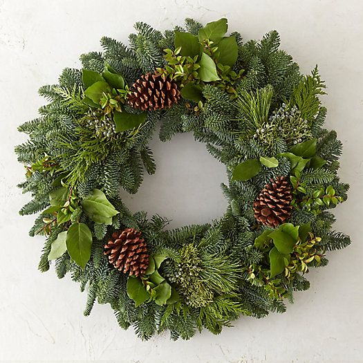 Fresh Mountain Evergreen Wreath