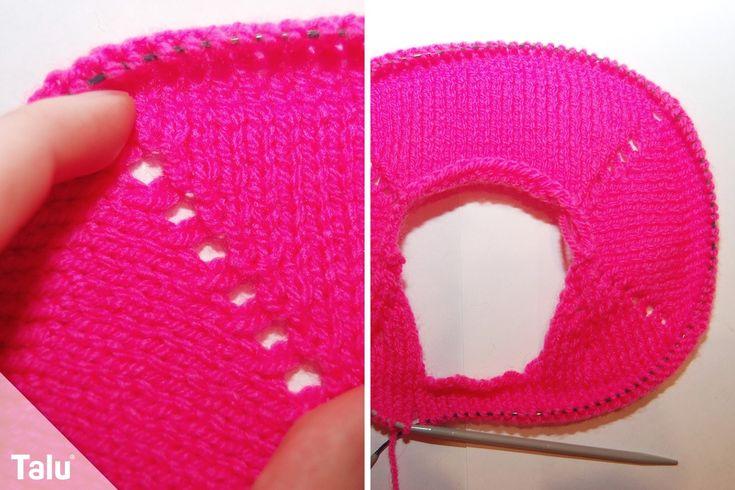 Talu zeigt in dieser Anleitung für Anfänger, wie Sie Raglan stricken. Auf Bilder zeigen wir im Detail, wie es geht. So können Sie einen Raglan-Pullover aus einem Stück stricken.