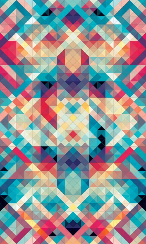 Geometric pattern for tribal feel Andy Gilmore - 08/10/2010 // Geometric Art