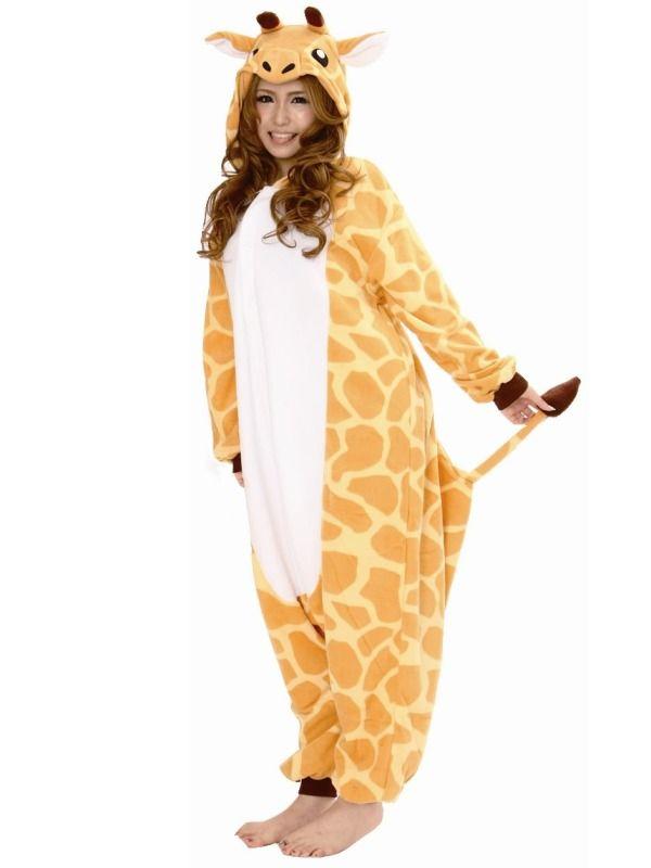 Giraf kostume | Ægte Kigurumi fra Japan| Dyrekostumer.dk