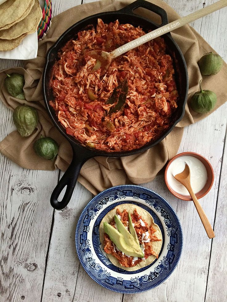 Tinga Chicken, a Special Dish