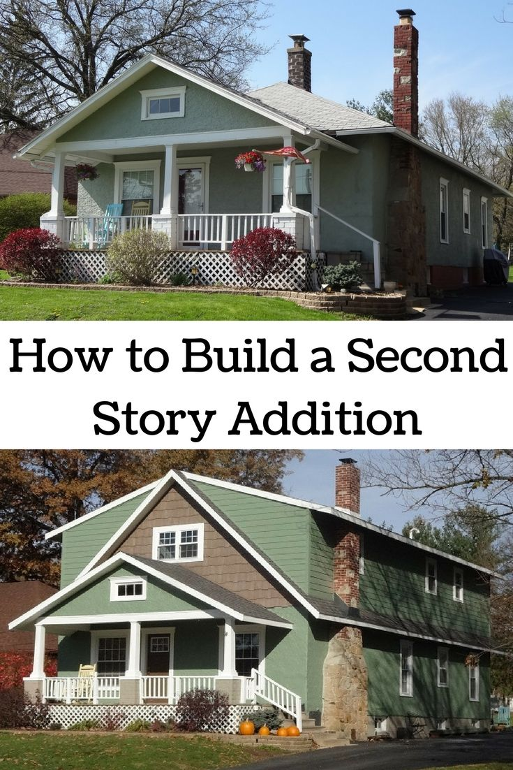 The 25 best second story addition ideas on pinterest for 2nd story addition plans