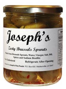Joseph's Zesty Brussels Sprouts