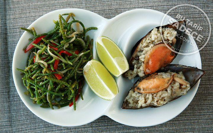 Tuti Restaurant'tan Midye Dolma ve Börülce Salatası Tarifi