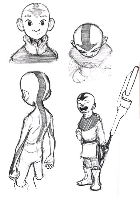 Avatar Last Airbender Character Design : Best images about ani manga concept arts on pinterest