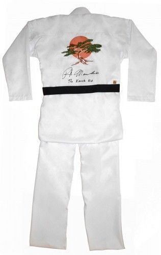 Ralph Macchio The Karate Kid Autographed Signed Miyagi Uniform