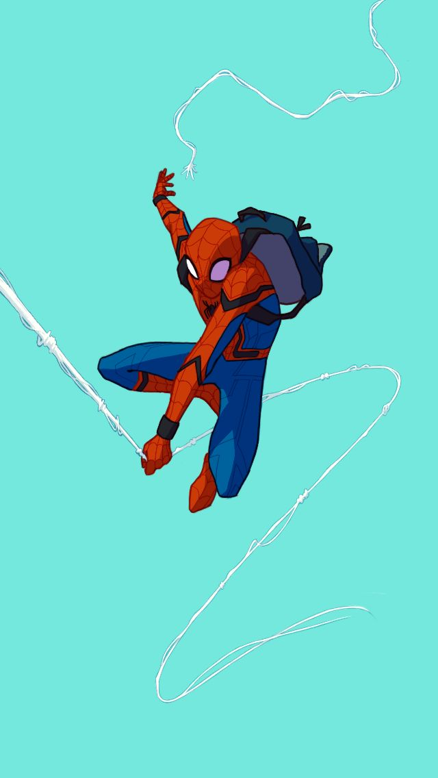 Spider-Man: Homecoming by @snowwhitehairandthesevenghosts
