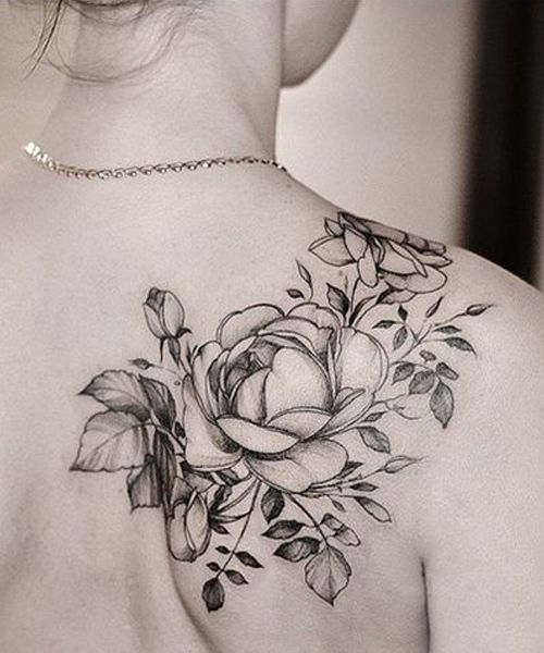 Lovely Placement Shoulder Tattoo Ideas for Women