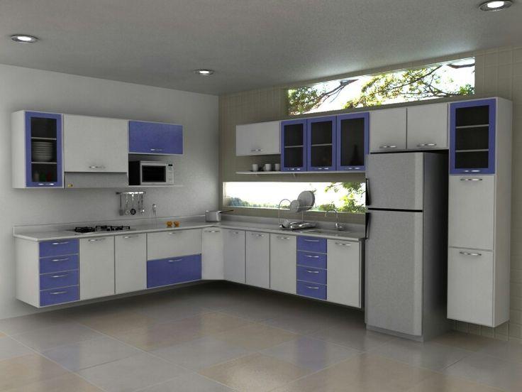 M s de 25 ideas incre bles sobre cocina en forma de l en - Cocina en forma de l ...
