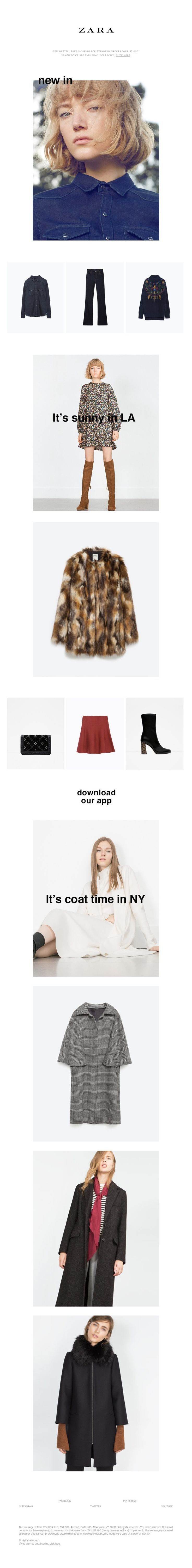 ZARA - Weekly | This is new in. Tuesday, October 13