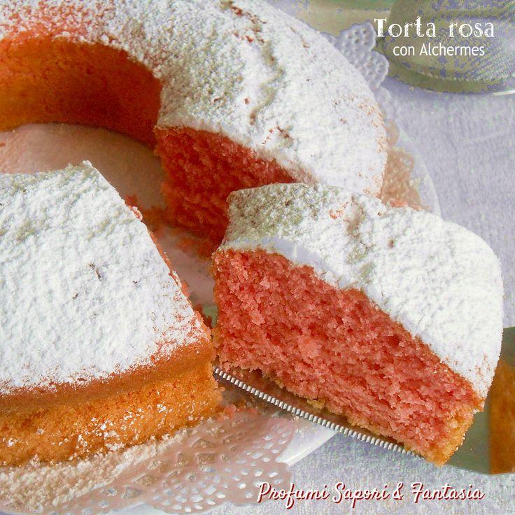 Ciambella rosa con Alchermes