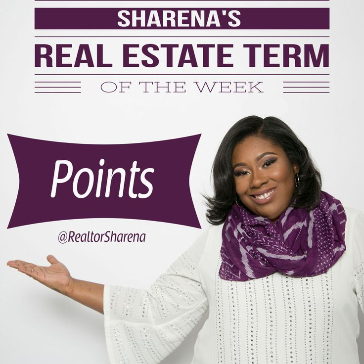 Points are charged by lenders to increase the lender's return on the mortgage. This can include or be in addition to the loan origination fee. Typically, lenders may charge anywhere from zero to two points. One point equals 1 percent of the mortgage amount. The good news is that points are tax-deductible.