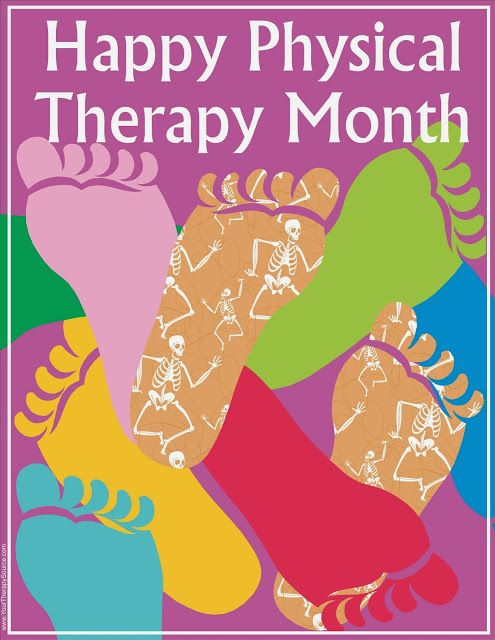 Your Therapy Source: 10 Ideas to Celebrate PT Month in October. Pinned by SOS Inc. Resources. Follow all our boards at pinterest.com/sostherapy for therapy resources.