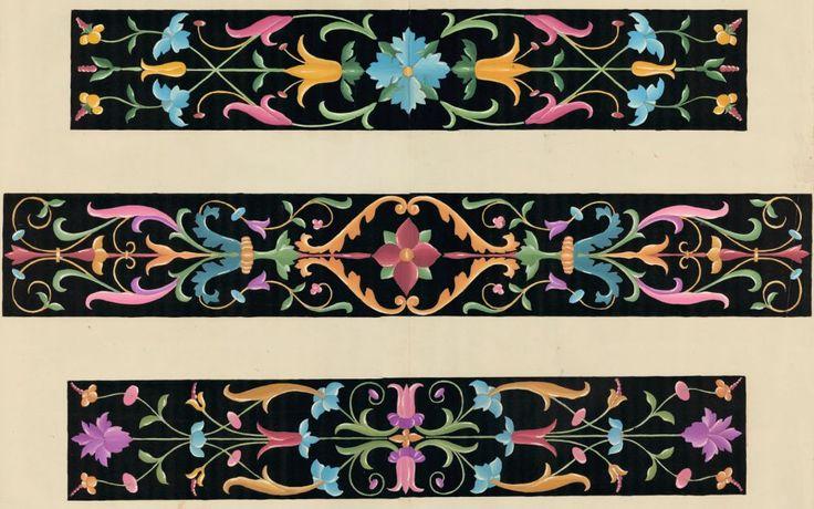 Intarsien aus Santa Maria in Organo Verona. Italienische Flachornamente aus der Zeit der Renaissance   Moritz Meurer