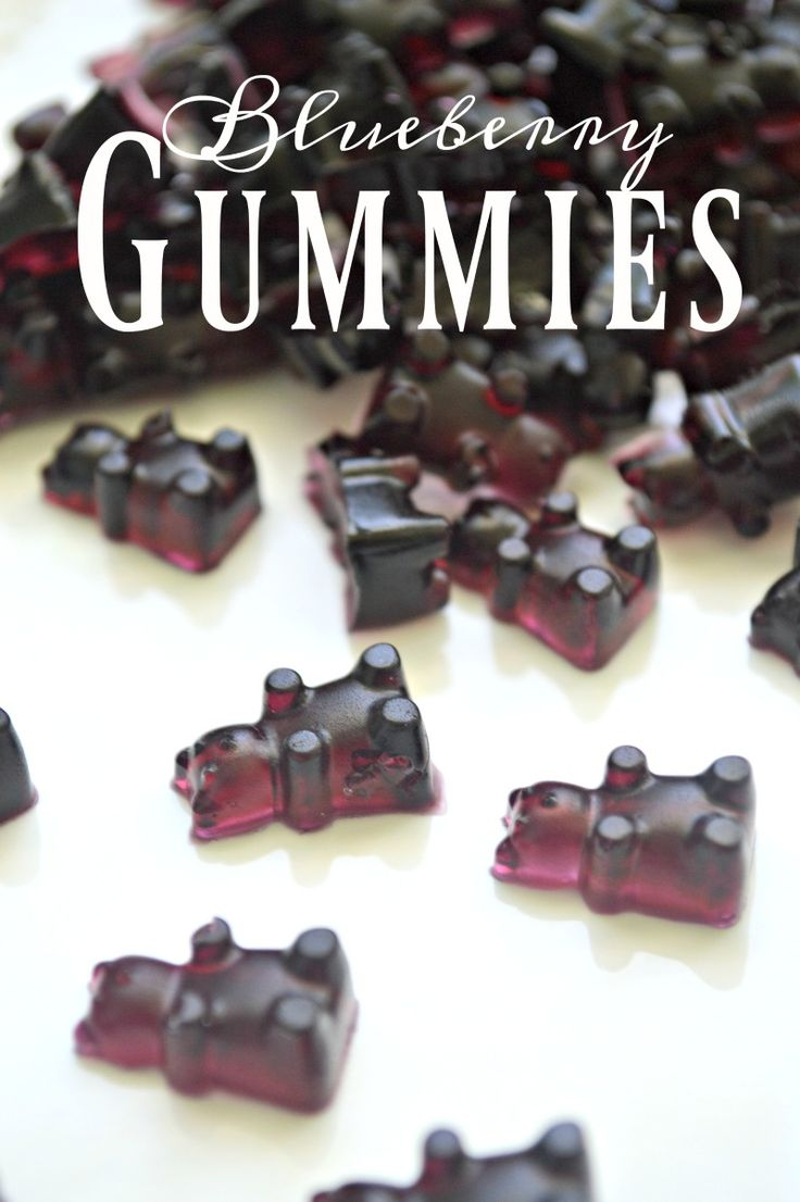 How to make Bluerry Gummies