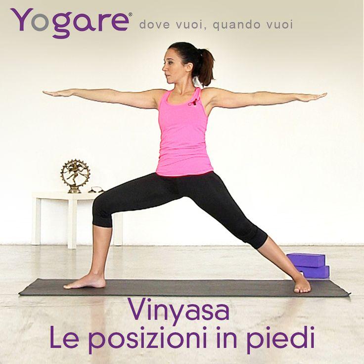 Introduzione al Vinyasa Le posizioni in piedi con Sara Bigatti su #Yogare http://yogare.eu/video-155 #Yoga