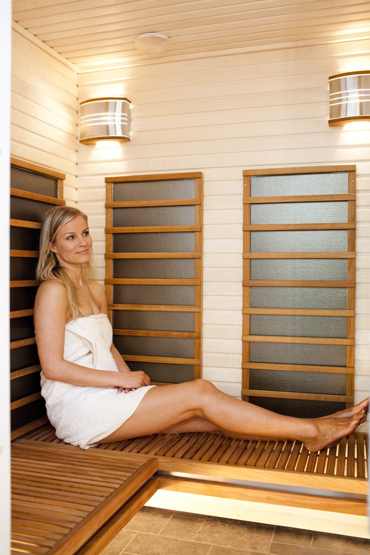 You can choose from Harvia sauna bech collection your favourite for infrared sauna, too. Accessories your sauna with our sauna products. Bench towel and lighting solutions helps you to relax in your infrared sauna.
