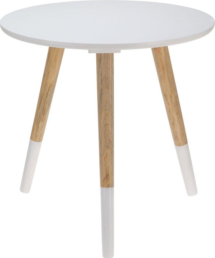Stolik Biały 40 x 39 x 1,2cm