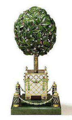 38a85901e1c1e6cd42f7ecbf0b509ef9  topiary trees topiaries - Los huevos imperiales de Fabergé: auténticas obras maestras de joyería