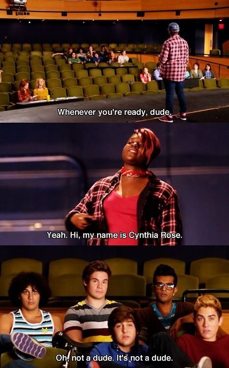 Pitch Perfect! This was one of my favorite scenes. I don't know why it made me laugh so much.