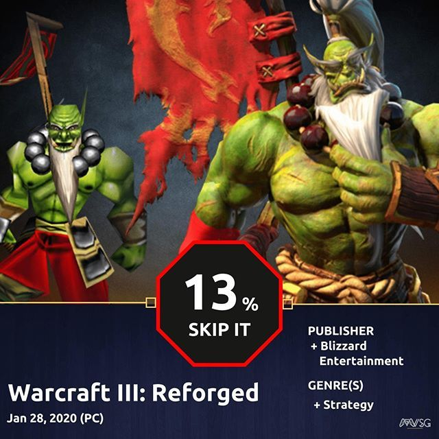 Reposting Verticalslicegames Critics Consensus On Warcraft Iii