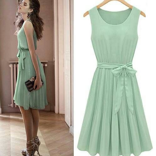 mint green bridesmaids dress (maybe not  bridesmaid dress material but I definitely want this either way)