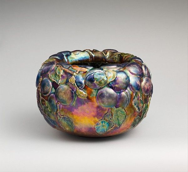 Bowl -  Designer: Designed by Louis Comfort Tiffany (American, New York 1848–1933 New York) Maker: Tiffany Glass and Decorating Company (1892–1902)