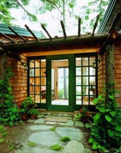 enclosed breezeways connecting house to garage - Google Search