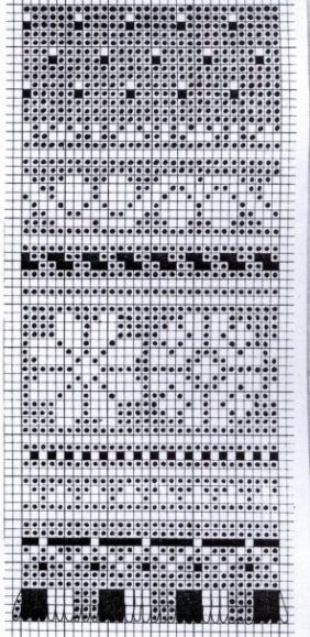 filet or fair isle pattern