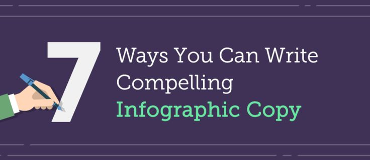 7 Steps To Writing Compelling Copy For Your Infographics – Writers Write