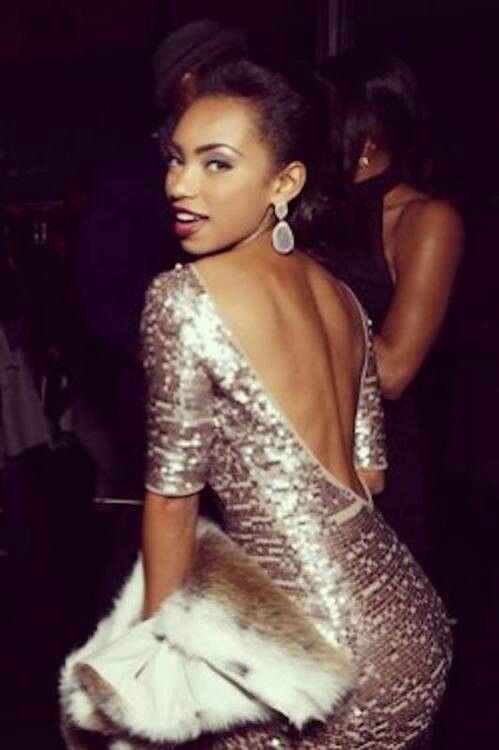 Logan Browning - Dress up