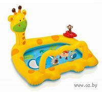 Бассейн надувной детский `Жираф` (111х91х71 см)