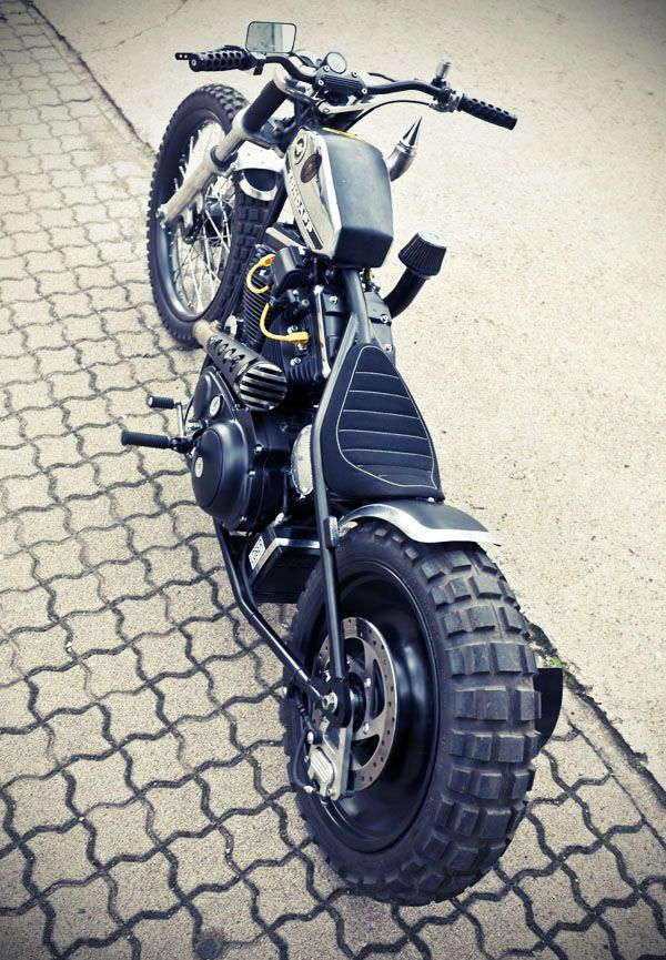 There is a lot to like about this custom sporty from MB Cycles in Germany