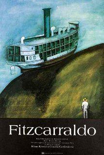 Fitzcarraldo. 1982. Dir. Werner Herzog. Brian Fitzgerald, un irlandés apasionado de la ópera, quiere construir un teatro acondicionado para oírla, pero en la selva amazónica. Nadie se fía del proyecto y la financiación no llega por lo que Brian (a quien todos llaman Fitzcarraldo) invierte en el negocio del caucho para obtener dinero. Para ello debe llevar un barco a un río de la selva cruzando la montaña, algo que está a punto de enloquecerlo. En #BibUpo…