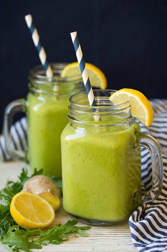Cold Buster Green Smoothie - Cooking Classy