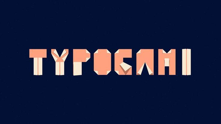 Typogami on Vimeo