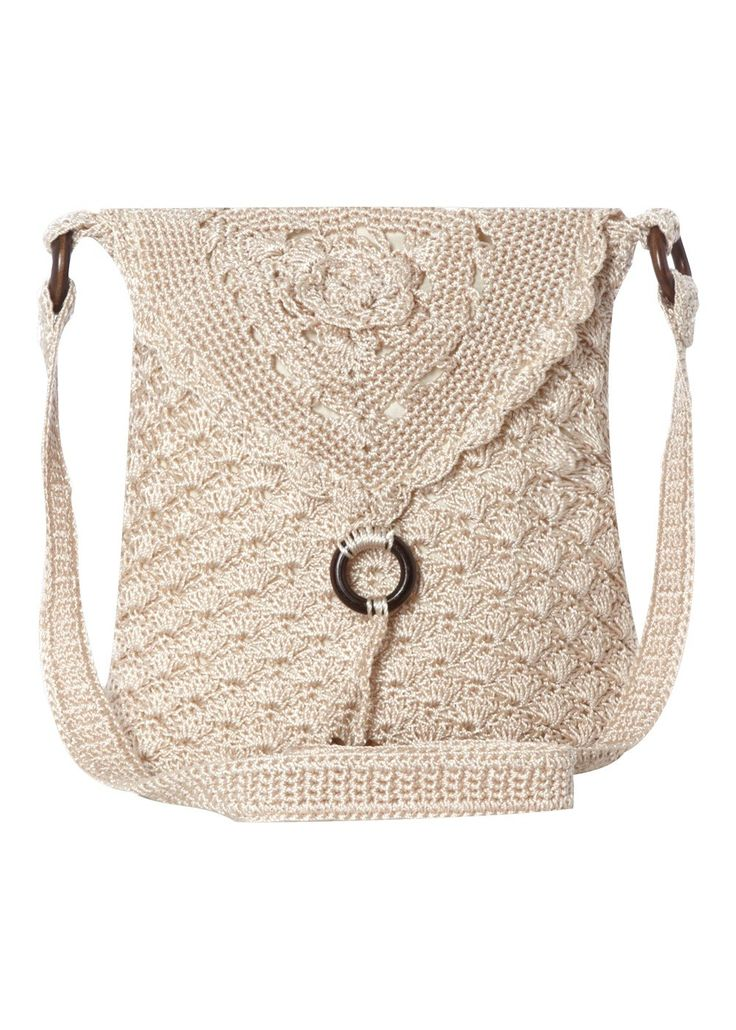 Crochet Crossbody Bag Pattern : ... Crochet crossbody bag on Pinterest Purse patterns, Free pattern and