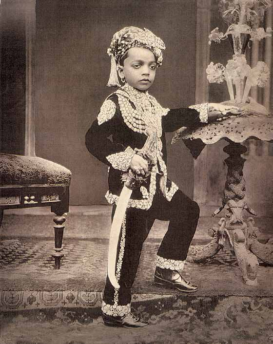 Royal Indian child.