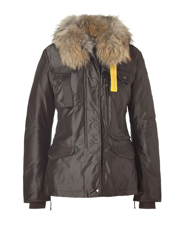 New Denali Women Masterpiece Brown Down Jacket