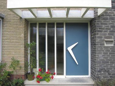 retro/vintage house door. Repinned by Secret Design Studio, Melbourne. www.secretdesignstudio.com