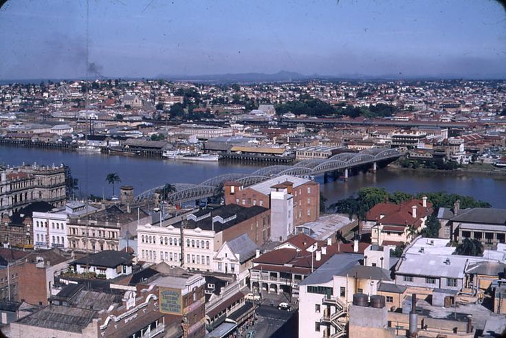 1950 - From City Hall looking towards old shipping docks