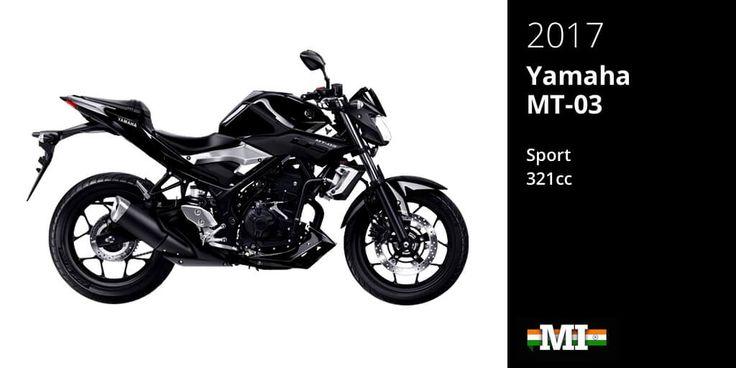Yamaha MT-03 entry level performance motorcycle
