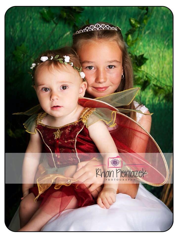 Fairy Mini Session. Sisters. Rhian Pieniazek Photography.
