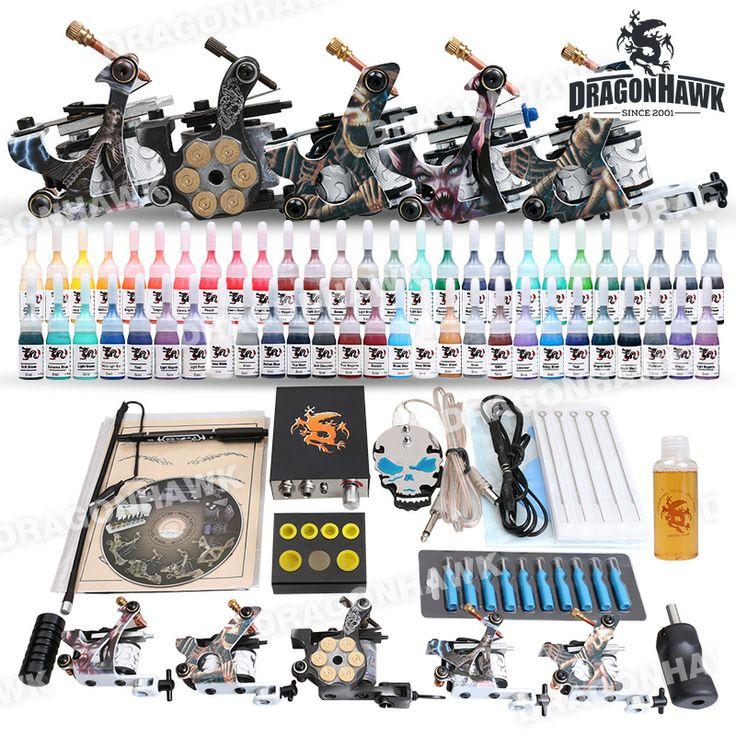 Value Tattoo Kit 5 Machine Guns Set Equipment Power Supply tattoo value kit D179 :5 tattoo machine. [D179(2.5 UK DE)] - US$82.89 : Dragonhawk tattoo supplies, tattoo kits,tattoo machines for sale global form tattoodiy.com