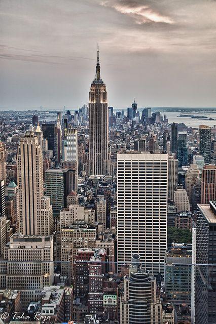 Rockfeller at Empire,New York City