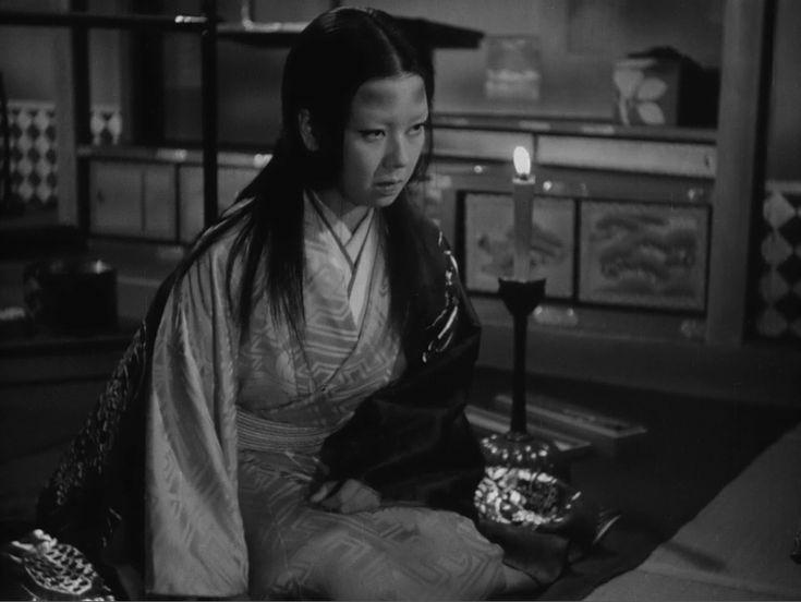 溝口健二監督「雨月物語」1953年/京マチ子