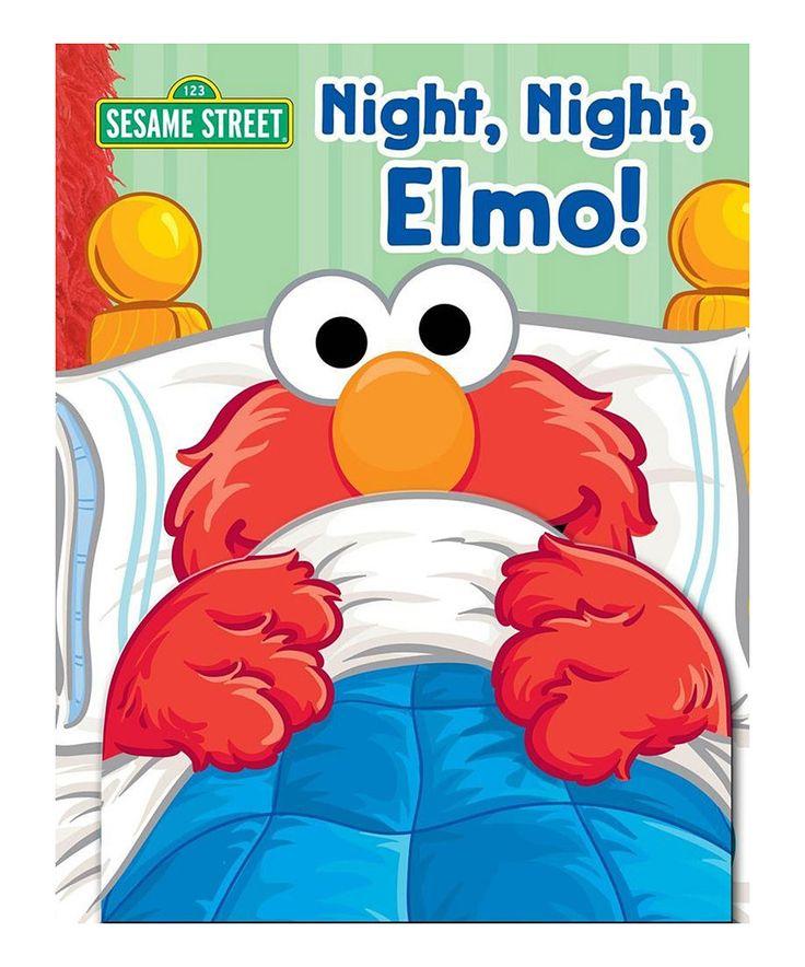 Look what I found on #zulily! Night, Night, Elmo! Book by Sesame Street #zulilyfinds