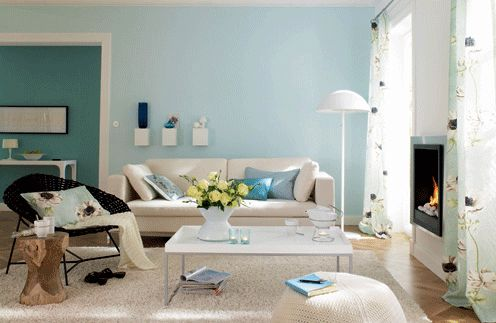 Best Interior Decorating With Sky Blue Color For Spacious Look 400 x 300