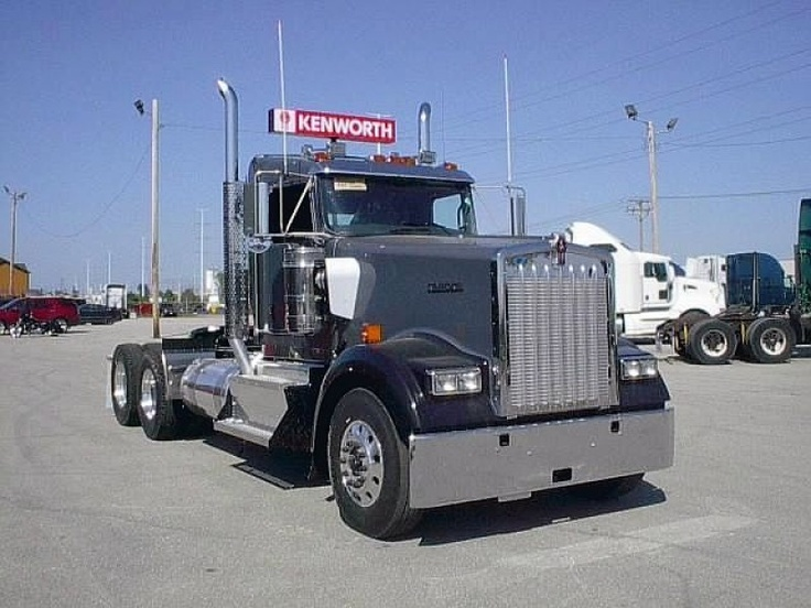 new 2013 kenworth tractor w900l for sale in wisconsin truck kenworth. Black Bedroom Furniture Sets. Home Design Ideas